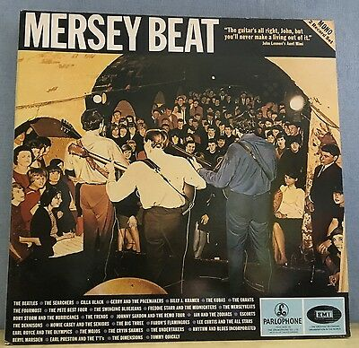 VARIOUS Mersey Beat 1983 UK  double Vinyl LP EXCELLENT CONDITION