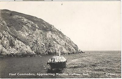 Fleet Commodore, Approaching Maseline Harbour, Sark RP