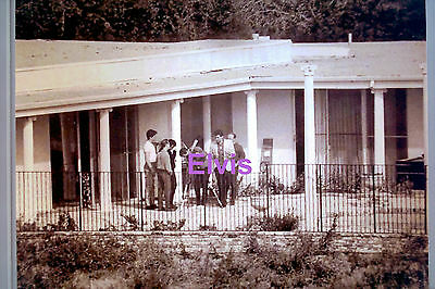Elvis Presley Billy Smith Esposito Jerry Schilling Bel Air House Photo Candid