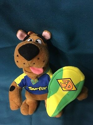 Scooby Doo Soft Toy Dressed As A Surfer