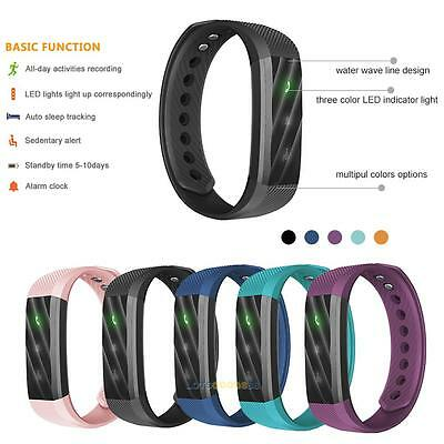 ID115 Lite Smart Bracelet Fitness Tracker Step Counter Sleep Monitor Band Watch