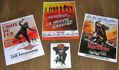 Sam Peckinpah - Lot 4 Synopsis (La Horde Sauvage / Major Dundee / Croix De Fer)