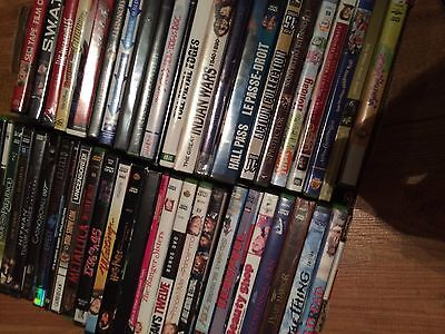 Wholesale Lot Of 65 Dvds - Waiting Harry Potter Simpsons Glee Hall Pass