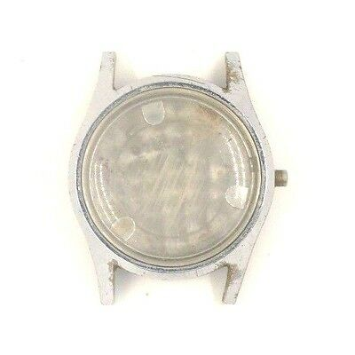 Used Rare Angelus Military Swiss 31Mm Nickel Plated Watch Case