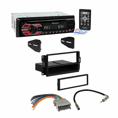 Pioneer Car Radio Stereo Dash Kit Wire Harness for 2004-08 Pontiac Grand Prix