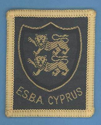 CYPRUS - E.S.B.A. - BRITISH SCOUTS ABROAD badge - UK. WORTH A LOOK! (ref N1684)