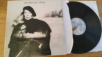Joni Mitchell, Hejira -  1976 Uk Press A2/b1 - Lp