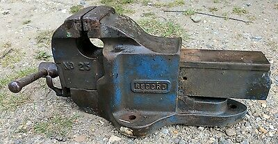 Record (England) No.23 Engineers Bench Vice With Quick Release 4 1/2 Inch