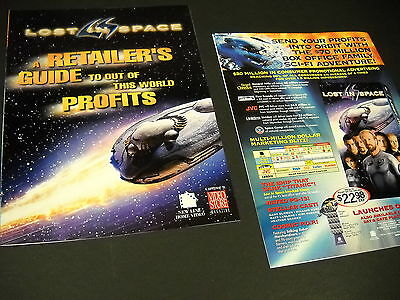 LOST IN SPACE 1998 12 page Marketing Campaign glossy color Promo Booklet