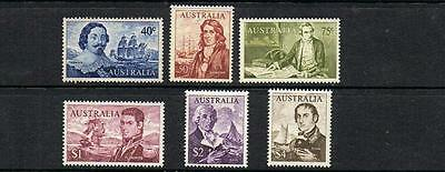 STAMPS from AUSTRALIA  1966 NAVIGATOR SET of 6    (MNH)   lot BC 68