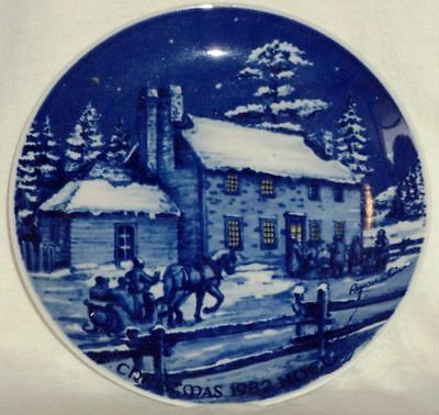 Sorrina Porcelain Collector's Plate Roger Witmer Jesuit House Quebec City Signed