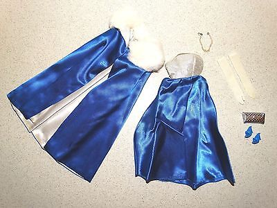 Barbie:  VINTAGE Complete MIDNIGHT BLUE Outfit!