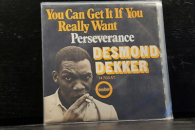 Desmond Dekker - You Can Get It If You Really Want / Perseverance
