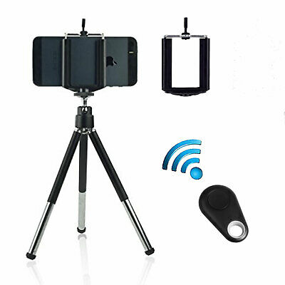 EEEKit Retractable Tripod Stand Mount Adapter+Wireless Remote Control for Phone