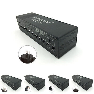 Guitar Effect Pedal Board Power Supply Isolated 9v-18v Output US Plug