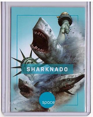 SHARKNADO SpaceDeck Space Channel Promo Card SP Deck SP A Shark and A Tornado :)