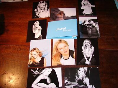 Jewel French Deluxe Promo!!!!!set Of Postcards This Way