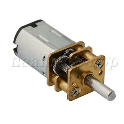 DC 3V 15RPM Mini Gearwheel Speed Reduce Geared Electric Motor with 3mm Shaft