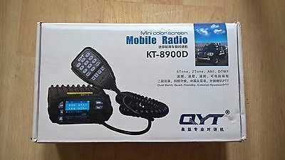 QYT KT-8900D Dual Band Quad-Standby Mobile Radio