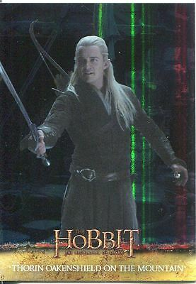 The Hobbit Desolation Of Smaug Parallel Foil Base Card #67