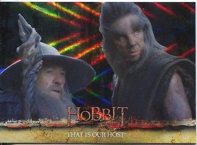 The Hobbit Desolation Of Smaug Parallel Foil Base Card #5