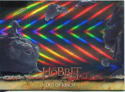 The Hobbit Desolation Of Smaug Parallel Foil Base Card #23