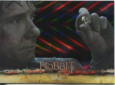 The Hobbit Desolation Of Smaug Parallel Foil Base Card #11