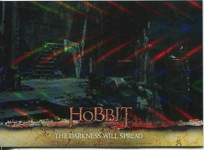 The Hobbit Desolation Of Smaug Parallel Foil Base Card #63
