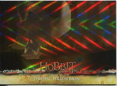 The Hobbit Desolation Of Smaug Parallel Foil Base Card #68