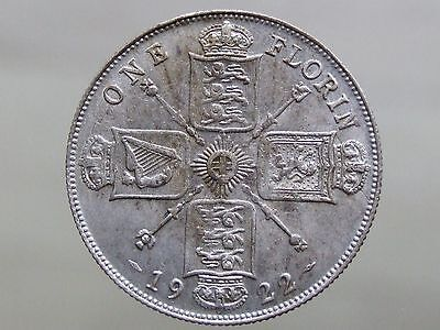 1922 Silver Florin - Stunning High Grade - FREE POSTAGE (G31)