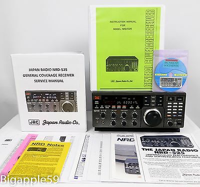 Japan Radio JRC NRD-525 SW AM SSB CW Radio Receiver ***CLASSIC DX UNIT***