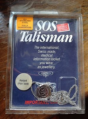 SOS Talisman All Stainless Steel - Swiss Made