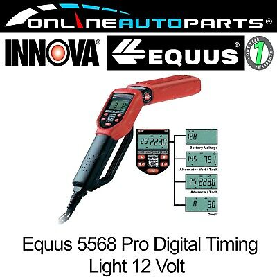 Digital Timing Light Innova Professional Mechanics with Advance Dwell Tacho
