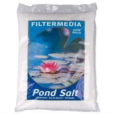 All Pond Solutions Natural Pond Salt Koi Fish Garden Pond Treatment 10Kg