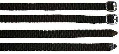 Harry's Horse Nylon Spur Straps Black Harry's Horse