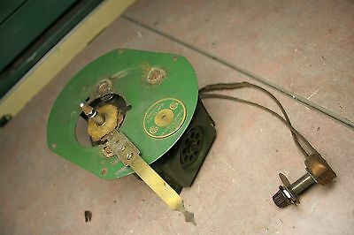 General Industries Green Flyer electric motor for turntable  1932 Philco radio