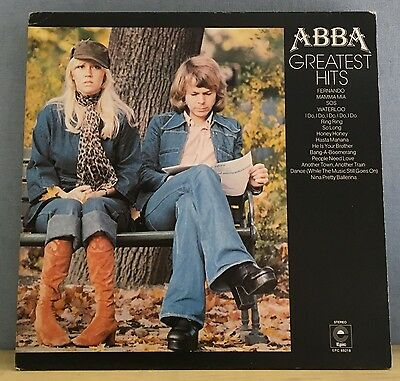 ABBA Greatest Hits UK Vinyl LP Record  EXCELLENT CONDITION best of  A