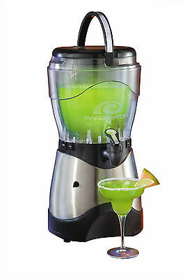 Margarita Slush Maker Frozen Ice Slushie Drink Machine ~ Stainless Steel Hsb-590