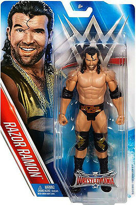 Wwe Wwf Mattel Wrestlemania 32 Series Razor Ramon Action Figure New Boxed!!