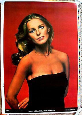 CHERYL LADD Kris PROTOTYPE Never RELEASED Bi-Rite CHARLIE'S ANGELS Poster RARE