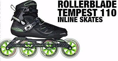 2016 Rollerblade Tempest C 110 pro skates men's sizes 7-13.5 NEW!