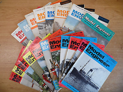 19 x The Model Engineer Magazines 1963-73 Job Lot Vol.128/131/132/134/138/139