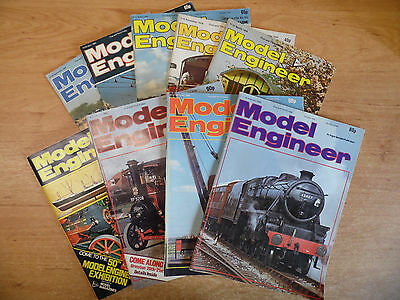9 x The Model Engineer Magazines 1978-85 Job Lot Vol.144/150/151/154/155