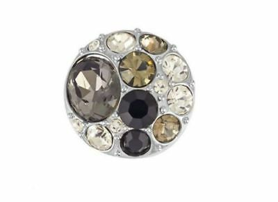 GINGER SNAPS™ BROOCH BLACK Jewelry - BUY 4, GET 5TH $6.95 SNAP FREE