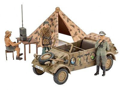 "German Staff Car Type 82 ""Bucket Car, Revell Military Model Kit 1:35, 03253"