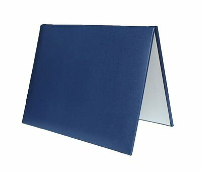 """GraduationMall Handcrafted Padded Diploma Cover 6"""" x 8"""" Navy"""
