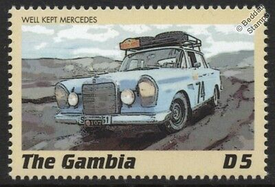 MERCEDES-BENZ 300 Classic Marathon Rally Car Stamp