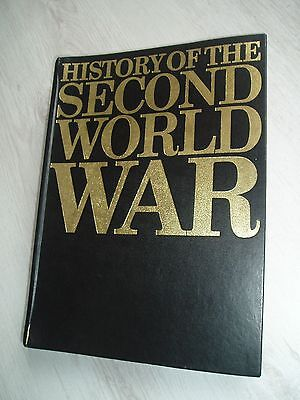 6 Volumes Of Purnell's  History Of The Second World War Magazines For Collecters