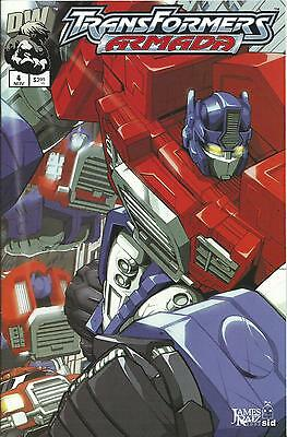 Transformers: Armada #4  (Dreamwave) Nm-