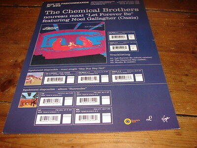 Chemical Brothers Forever!!!rare French Promo Press/kit